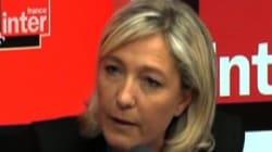 Les réponses passées inaperçues de Marine Le Pen sur France