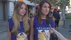 WATCH: Fans Defend Bieber's Right To Punch
