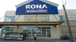 Rona Closes Stores, Lays Off