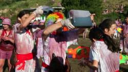 ¡Viva el vino! 130.000 litros en la batalla de Haro