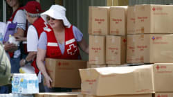 Red Cross Flood Donations Top