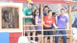 Che ci fa Zuckerberg al gay pride di San Francisco? (FOTO