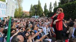 L'aquila di Ligonchio canta per Il Cav... (FOTO,