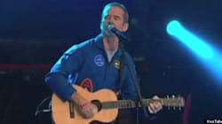 WATCH: Hadfield Rocks Out On Canada