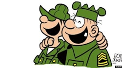 Even Beloved Comic Character Beetle Bailey Battles