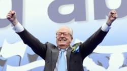 À Nice, Jean-Marie Le Pen parle de la