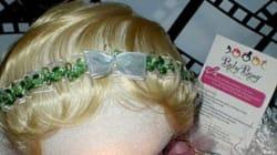 Des perruques pour bébés. Le Web espère que c'est une