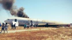 Un directeur de Samsung live-tweete le crash de l'avion à San