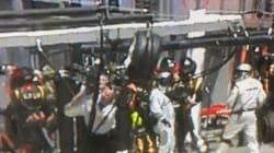 Webber perde la gomma e colpisce un