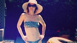 Lisa Rinna In A Tiny