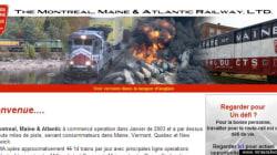 Lac-Mégantic: un faux site web se moque de la Montreal, Maine & Atlantic Railway... et de son