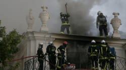 L'incendie de l'hôtel Lambert a causé des dommages