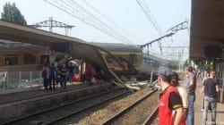 Au moins six morts après le déraillement d'un train à