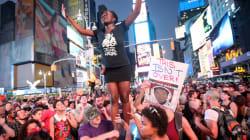 À New York, des milliers de manifestants après l'acquittement de