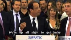 Après Obama, Hollande chante aussi Daft