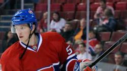 L'attaquant du Canadien Blake Geoffrion annonce sa retraite à 25