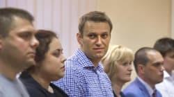 Finisce in carcere il blogger anti Putin