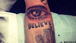 J.Bieb's New Tattoo Is