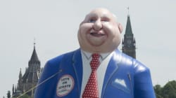Giant Mike Duffy Balloon Will Haunt Your