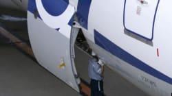 Le 787 Dreamliner, nouvel avion d'Air Canada, se pose à Toronto