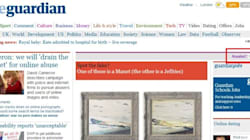 E il Guardian si sdoppia: il sito con e senza la notizia del Royal