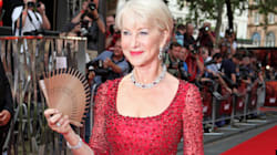 Helen Mirren Looks Red
