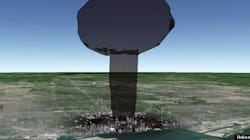 LOOK: This Is What A Nuclear Bomb Would Do To