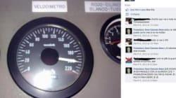 Quella foto su facebook con il tachimetro a 200 all'ora