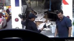 「荷物を投げ込む宅配便」動画が話題に:米国