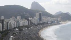Rio : le pape François célèbre la fin des JMJ devant 3 millions de