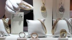 Les plus importants vols de bijoux des dix dernières