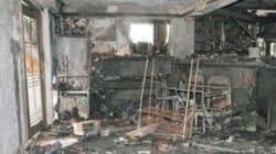 Il cellulare gli incendia la casa