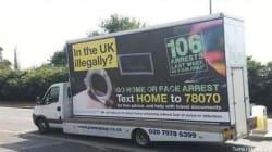 À Londres, le «van raciste» sème la