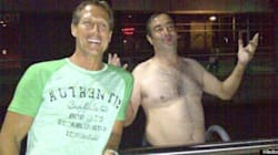LOOK: Photos Exist Of Drunk Man's Swim To