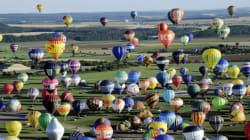 391 mongolfiere lanciate all'unisono. Il record del Festival di Chambley (FOTO,