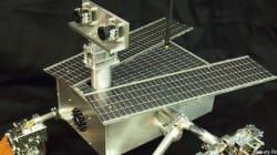 Ce robot martien a été construit par deux