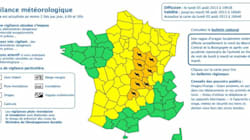 Orages : 8 départements placés en alerte