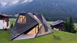Una casa di montagna sui generis