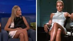 Sharon Stone ripete la scena più sexy del