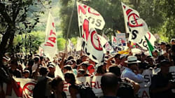 No Muos: attivisti entrano nella base americana di Niscemi. Scontri con la