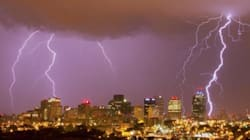 LOOK: Amazing Lightning Storm Floods