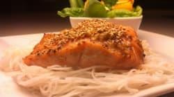 Repas rapide: Saumon asiatique à