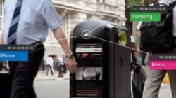 À Londres, des poubelles de recyclage traquaient les passants par le biais de leurs