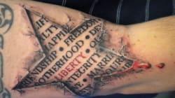 Il tatuaggio è in 3D