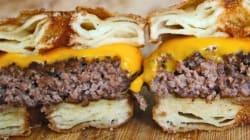 Un savant mélange entre le croissant, le donut et le burger au