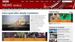 La rivolta in Egitto è breaking news in tutto il
