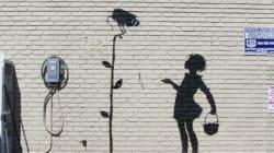 Può valere 300mila dollari, ma a Banksy non andrà