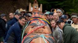 Haida Gwaii Raises Legacy Totem