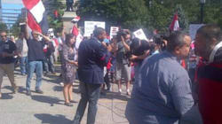 Canadians Rally Against Mohammed Morsi's