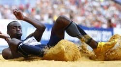 Triple saut : le Français Teddy Tamgho décroche